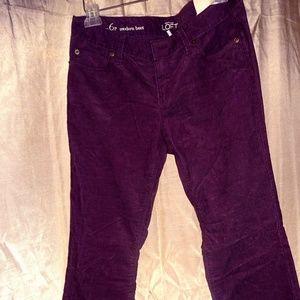 Corduroy Boot-cut pants